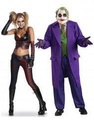 Harley™ & Joker™ - Pardräkt vuxna