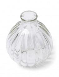 Liten rustisk glasflaska 10 cm