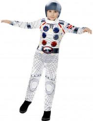 Vit astronautdräkt