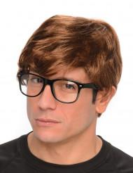Hemlig Agentperuk med Glasögon