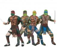 Ninja Turtles™ Overaller - Gruppdräkt för Vuxna