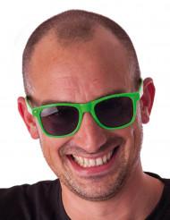 Bluesglasögon för vuxna i neongrönt