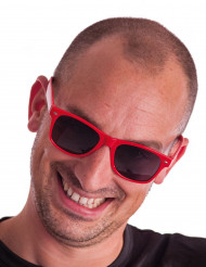 Röda glasögon vuxen