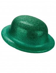 Grön kubbhatt med glitter - St. Patrick