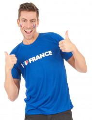 T-shirt I love France supporter