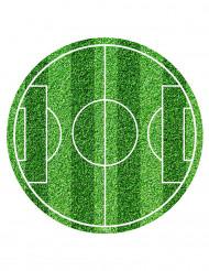 Fotbollsplan - Tårtbild till kalaset