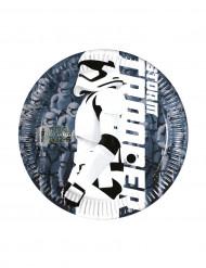 8 Små tallrikar Stormtrooper STAR WARS VII ™