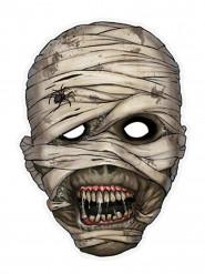 Mumie - Pappersmask till Halloween