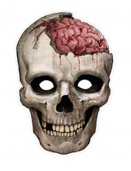 Kranium - Pappersmask till Halloween