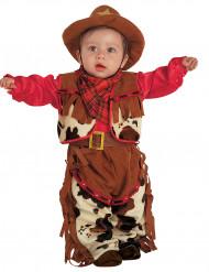 Cowboydräkt bebis