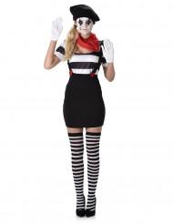 Mimiker i Paris - Maskeradklänning för vuxna