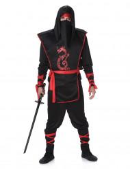 Röda draken - Ninjadräkt för vuxna till temafesten