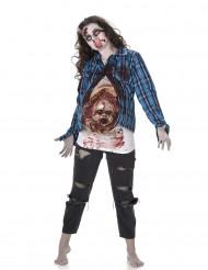 Zombiedräkt med babyansikte Halloween