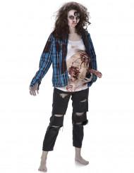 Gravid zombie - Halloweenkostym för vuxna