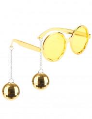 Guldiga Discoglasögon vuxen