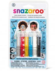 6 Sminkstift från Snazaroo™ - Hjältekit till kalaset