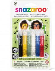 6 Sminkstift från Snazaroo™ - Baskit till kalset