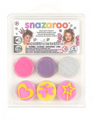 Minikit med smink fe och fjäril Snazaroo™