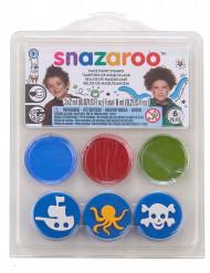 Minikit med smink, pirat, Snazaroo™