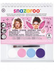 Magiska väsen - Minikit med smink och bok från Snazaroo™