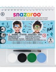 Minikit med smink och bok, Snazaroo™