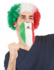 Skägg italiensk supporter vuxen