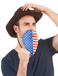 Skägg för amerikansk supporter