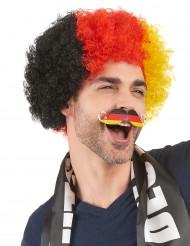 Mustasch tysk supporter vuxen