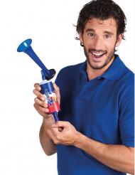 Tjutande horn fransk supporter