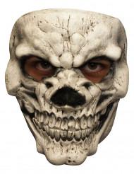 Skelettmask med leendet från helvetet - för vuxen till Halloween