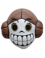 Prinsessan från rymden - Dia de los muertos-mask för vuxna