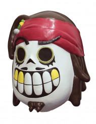 Pirat - Dia de los Muertos-mask för vuxna