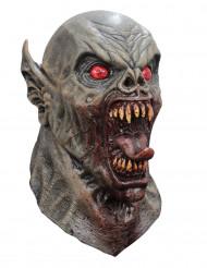 Heltäckande grotesk djävuls mask för vuxen