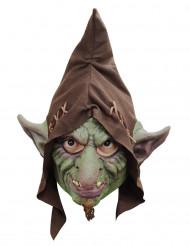Heltäckande trollmask för vuxen till Halloween