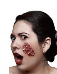 Fejksår med invasion av larver till Halloween
