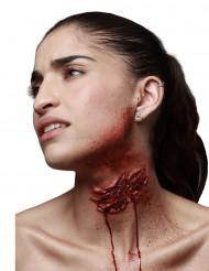 Fejksår med vampyrbett för vuxna till Halloween