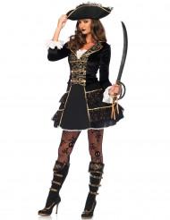 Piratkapten - utklädnad för vuxna till maskeraden