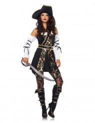 Gyllene pirat - utklädnad för vuxna