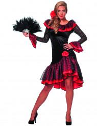 Flamenco dansare maskeraddräkt
