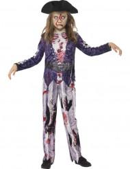 Pirat Zombie Barn Maskeraddräkt