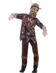 Zombie Vikingdräkt Barn Halloween