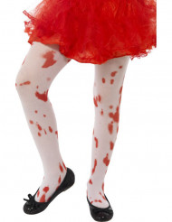 Blodiga strumbyxor för barn till Halloween