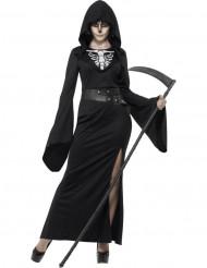 Maskeraddräkt liekvinna vuxen Halloween