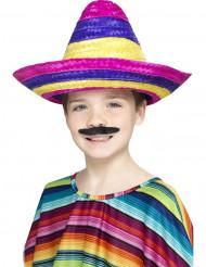 Färgglad sombrero barn