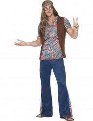 Blå Bertil hippiedräkt
