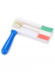 Supporterskallra i italienska färger