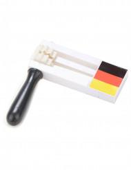 Supporterskallra i tyska färger