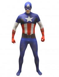 Maskeraddräkt Morphsuits™ Captain America vuxen
