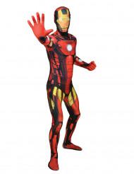 MaskeraddräktMorphsuits™klassisk Iron Man vuxen