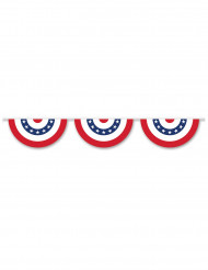 Girland i USAs färger 3.66m